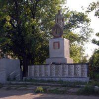 Памятник воинам, Боровское