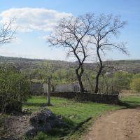 перевальск, вид на бугаевку, Бугаевка