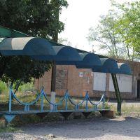 Автобусная остановка ш.78 в стиле 70-х, Вахрушево