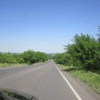 Дорога в посёлок, Вергулевка