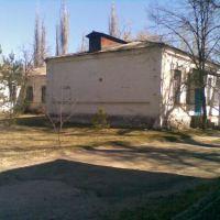 больница, старое здание администрации, Ворошиловград