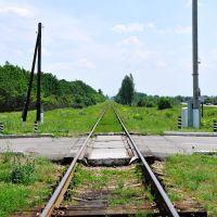 Железнодорожный переезд, Ворошиловград