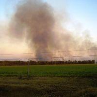 Возгорание поля, Врубовка