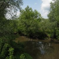 Река в Успенке. River in Uspenka., Врубовский
