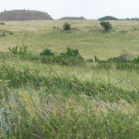 Вид с бугра в Успенке на террикон, Врубовский