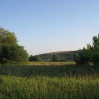Вид на бугор, Врубовский