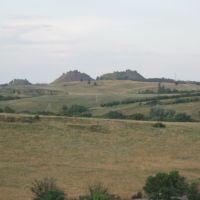 Вид с бугра на террикон, Врубовский