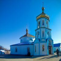Свято- Успенская церковь построена в 1797 году. Фото: 2010.Piously - the Uspensky church is constructed in 1797. A photo: 2010., Горское