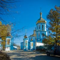 Piously - Uspensky church in Gorskoe. A photo: 2010.Свято- Успенская церковь в Горском. Фото: 2010., Горское
