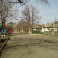 Центральный въезд в поселок, Есауловка