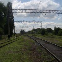 Входная горловина станции Антрацит, Есауловка