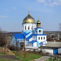 церковь-собор Александра Невского, Есауловка