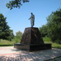 Памятник в Зимогорье. The monument in Zimogore., Зимогорье