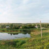Калиново, озерцо без названия с дамбой, Калиново