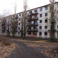 Аварийный дом п.Стаханов, Камышеваха