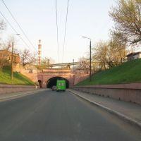 Туннель и въезд в город, Коммунарск