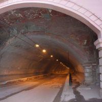 Въезд в тоннель, Коммунарск