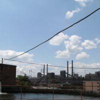 На заводе. Июль 2004, Коммунарск
