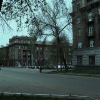 Хмуро-голубое утро, Коммунарск