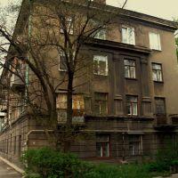 Торец дома, Коммунарск