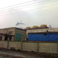 Вид на АМЗ, Коммунарск