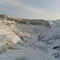 Зима на шлаковой, Коммунарск