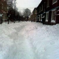 Зима в Алчевске(2010), Коммунарск