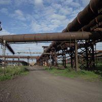 заводские трубопроводы, Коммунарск