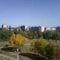 ВИД С БАЛКОНА., Краснодон