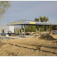 Строительство запрещенной заправки - the construction of forbidden gas stations, Краснодон