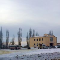 автостанция зимой, Краснодон