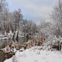 Приход зимы на р.Красная, Кременная