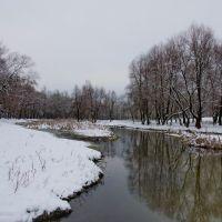 Зима 2012 на р.Красная, Кременная