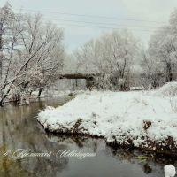 Старый мост через р.Красная, Кременная