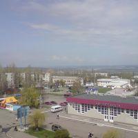 вид со швейной фабрики, Лисичанск