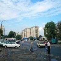 Market square in Lisichansk, Лисичанск
