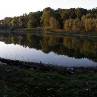 Вечерний вид на Озеро Призраков, Лисичанск