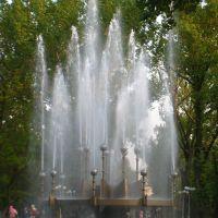 Фонтан теперь вертикальный. The fountain now is vertical., Луганск