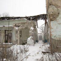 Много лет назад это был красивый дом. Many years ago it was nice house., Луганск