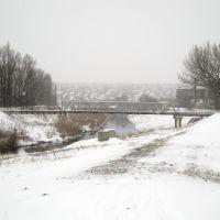 Пешеходный мостик. An pedestrian bridge., Луганск