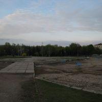 Бывший фонтан. Ex-fountain., Луганск