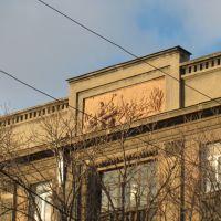 "Эта картинка похожа на сцену из фильма чапаев. This picture looks like from the film ""Chapaev""., Луганск"