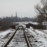 Мост через р.Ольховую., Лутугино