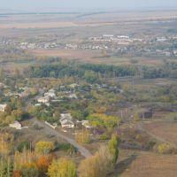 Марковка, Луганская область,Украина (вид с телевизионной башни), Марковка