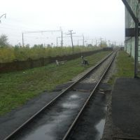 Ж.д. пути элеватора, Меловое