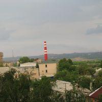 Вид на обувную фабрику, Первомайск