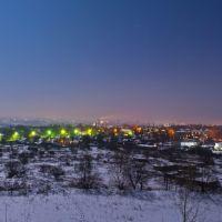 Вид ночью с терекона, Первомайск