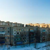 Вид с моего балкона 14 дома (40 лет), Первомайск