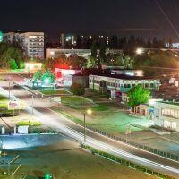 Вид с крыши на манеж, Первомайск
