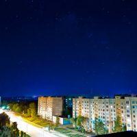 Вид с крыши ул.Ленина на 4о лет Победы, Первомайск